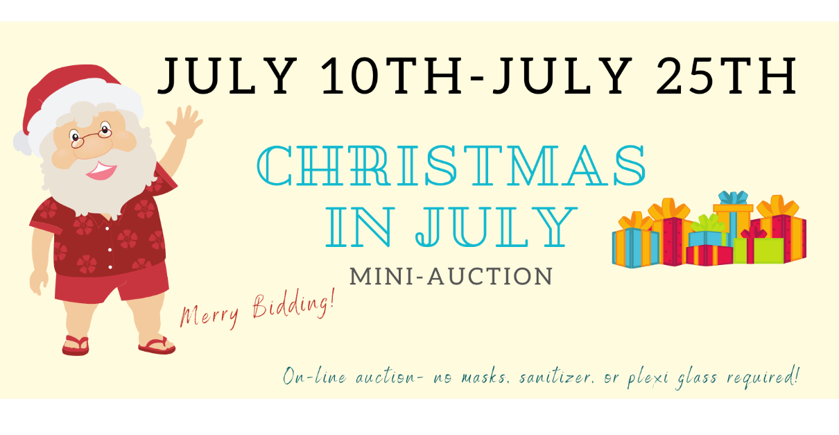 Christmas in July Mini Auction