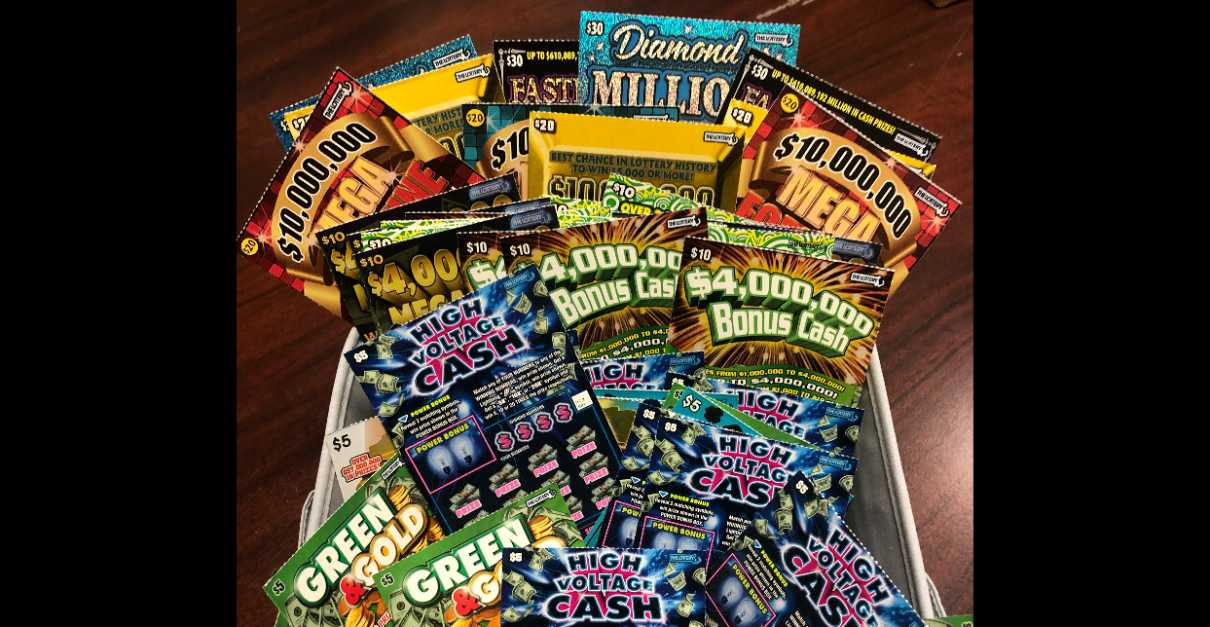 Lottery Ticket Basket Giveaway