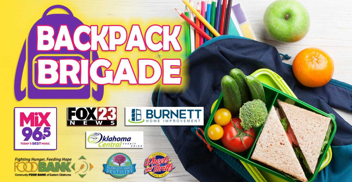 Mix 96.5 and FOX23 Backpack Brigade